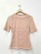 Designer BNWOT Alexander Wang Size Small Soft Pink Cut Out Women's Top