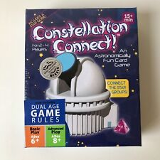 New! CONSTELLATION CONNECT Educational Card Game SEALED! Dual Age 2009 Astronomy