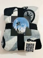 E.T. The Extra Terrestrial Alien THROW Blanket Gift Present Primark Home Bedroom