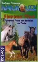 Naturquiz - Abenteuer Pferd -  von Kosmos