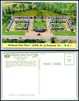 VIRGINIA Postcard - Richmond - Richmond Auto Court Motel J15
