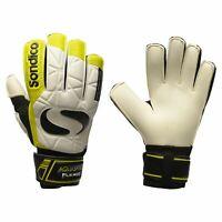 Sondico Aquaspine Goalkeeper Gloves Mens White/Yellow Football Soccer