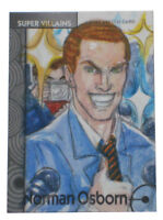 2013 Fleer Marvel Retro Norman Osborne Sketch Card #59 Base Original Art 1/1