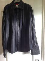 Men's Real Stripe Guess Shirt Size L Large