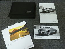 2011 Audi Quattro TT TTS  Coupe Convertible Roadster Owner Owner's Manual 2.0L
