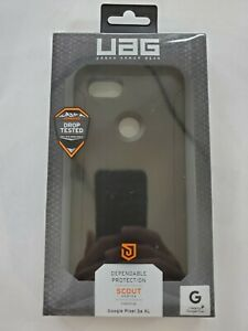 Urban Armor Gear UAG Scout Rugged Case For Google Pixel 3a XL Only Black New
