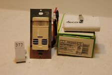Leviton OSSMD-FTT Multi Tech Dual Relay Sensor W/Fan Timer switch(377)