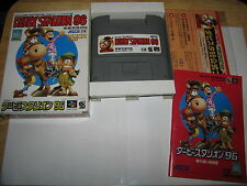 Derby Stallion 96 Super Famicom SFC SNES Japan import complete in box