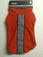 "Friends Forever Scout Reflective Fleece Dog Coat Orange Med ""NEW"" FREE SHIPPING"