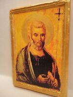 Saint Peter Apostle  ICONE IKONA Byzantine ART Catholic & Eastern Orthodox Icon