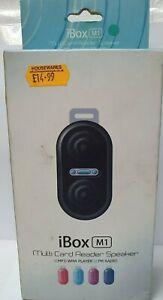 iBOX M1 Multi Card Reader Speaker (NEW)