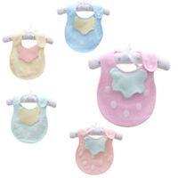 Cartoon Toddler Lunch Bibs Burp Cloths Baby Girl Boy Towel Saliva Cloth G