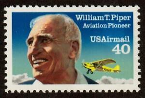 Scott C129 40¢ William T. Piper MNH Free shipping in USA!