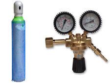Bombola di gas 8 litri ARGON (82%) + CO2 (18%) inerte MIG saldatura + Riduttore