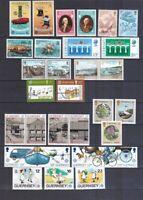 Guernsey 1979-1989 posrfrisch Europa CEPT  siehe Bild