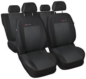 Sitzbezüge Sitzbezug Schonbezüge für BMW 7 Komplettset Elegance P3
