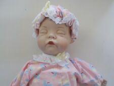 The Ashton Drake Galleries 1995 Rock A Bye Baby by Artist Yolanda Bello