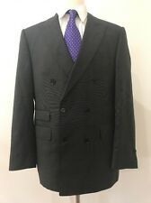 $1,295 Coppley Gray Dotted Pattern Men's Canada Wool Suit Size 40R Pants 34x32