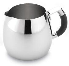 Grandeur 12oz Deluxe Milk Jug Premium 18/10 Stainless Steel Grunwerg GM012