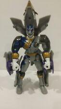 2002 Bandai Power Rangers Grey Lunar Wolf Falcon Ranger Figure