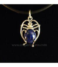 Escarabajo egipcio de Lapislázuli y plata