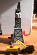 Thomas the Tank Engine Cranky the Crane lot w/ train cars