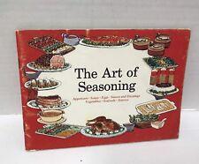 The Art Of Seasoning Vtg Cookbook By Tabasco Booklet Pamphlet