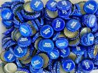 100 ((Bud Light)) NO DENTS Beer Bottle Caps Free Shipping