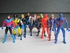 Vintage Marvel ToyBiz X-Men Lot Wolverine Raza Spider-Man 2099 Action Figures