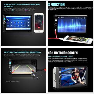 7Inch HD Touch Screen Car Radio Stereo Bluetooth MP5 Player SD MMC FM Handsfree
