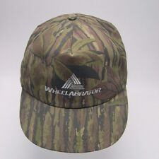 Camouflage Snapback - Made in USA -Wheelabrator  Structured front