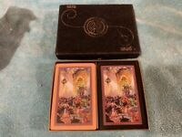 VINTAGE PLAYING CARDS DOUBLE DECK ST LOUIS VEILED PROPHET