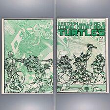 Teenage Mutant Ninja Turtles 4 (1984) First Print Wraparound Cover VF