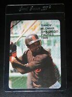 RARE 1989 ROOKIES SERIES 1 SANDY ALOMAR JR ROOKIE ODBALL CARD #15 (Mint)