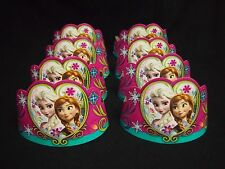 16 FROZEN Princess Elsa Anna Tiaras 8ct Birthday Hats Crowns Favors Prizes Decor