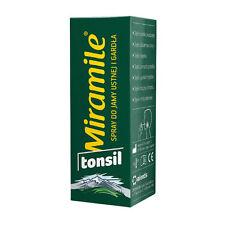 MIRAMILE Tonisil spray do gardła ból chrypka angina krtań przeziębienie suchość