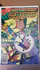 Crisis on Infinite Earths #4 1985 Newsstand High Grade 9.0 DC Comic CL65-212