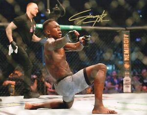 ISRAEL STYLEBENDER ADESANYA SIGNED AUTO'D 11X14 PHOTO UFC 243 253 VS COSTA A