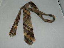 Polo Ralph Lauren Vintage Wool Plaid Tie Handmade