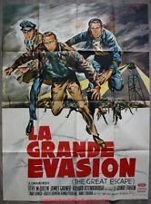 LA GRANDE EVASION The Great Escape Affiche Cinéma / Movie Poster STEVE MCQUEEN