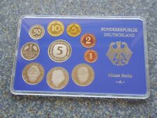 BRD 1995 A einzel KMS PP Polierte Platte Kursmünzensatz 1Pf- 5 DM 12,68 Mark