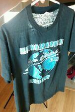 Vtg 80s Mylon Lefevre & Broken Heart Crew Tour Concert T Shirt Paper Thin Peavey