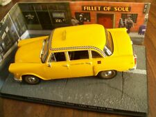 CHECKER MARATHON TAXI Movie LIVE AND LET DIE - JAMES BOND 007 1/43 DIORAMA NEW