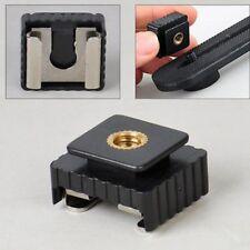 """1/4""""Schraubenloch kalter Fuß zu Hot Shoe Mount Adapter für Canon Speedlite Flash"""