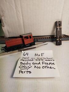 M+F Merker + Fischer DB Köf III Unfinished Kit (twt 64)