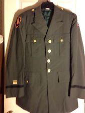 Vintage U.S. Army Dress Green Ippoliti Klopman Military Uniform Coat & Pant