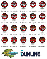 Sunline Monofilament (Super Natural) Any LB Test 660 YD BULK Spool Fishing Line