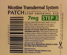 Habitrol Nicotine Transdermal System Patch 7mg Step 3 14 PATCHES (2-week kit)