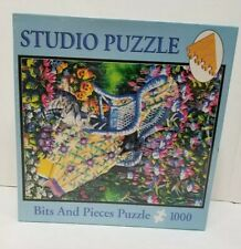 "Studio Puzzle Bits & Pieces Puzzle 1000 Under the Fuchsia Diane Phalen 20"" X 27"""