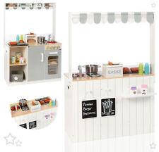 Sun Küchen- & Kaufladen-Kombi Street Food Kitchen Spielküche Imbiss Kaufladen